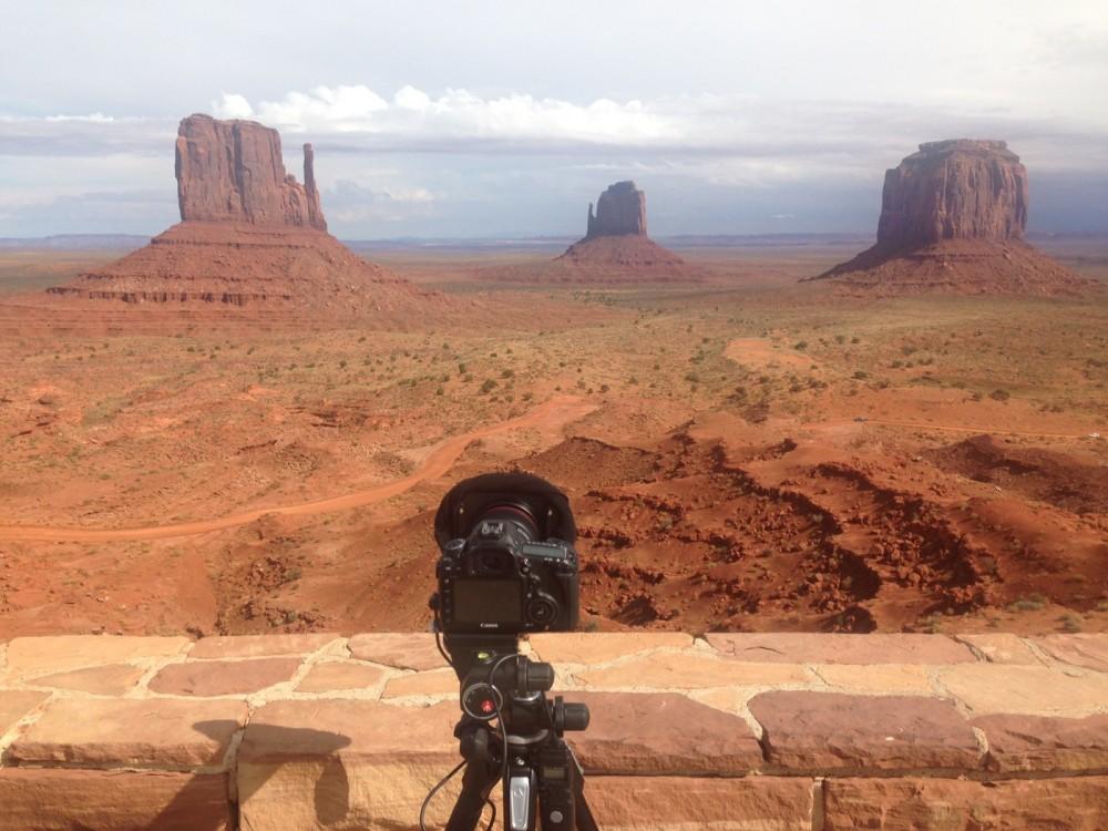 Die Kamera auf grosser Reise